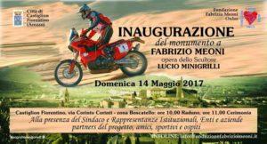 Monumento a Fabrizio Meoni: inaugurazione